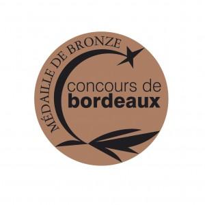 MEDAILLE BRONZE concours de Bordeaux
