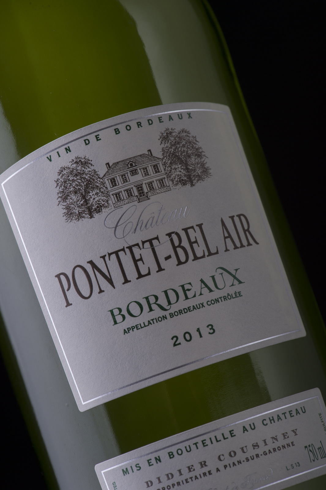 BORDEAUX SEC AOC – CHATEAU PONTET BEL AIR